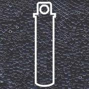 Gunmetal Tiny 1.8mm Square Cube Miyuki Japanese Glass Beads 8 Gramme Tube