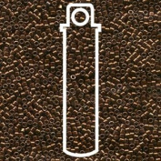 Galvanised Copper Dyed (Db461) Delica Myiuki 11/0 Seed Bead 7.2 Gramme Tube Approx 1400 Beads