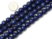 "10mm Round Smooth Surface Lapis Lazuli Beads Strand 15"" Jewellery Making Beads"