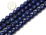 "10mm Round Smooth Surface Lapis Lazuli Beads Strand 15"" Jewellery Making Beads"