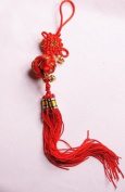 Feng shui Red Chinese Knot Chain - good for prosperity J154