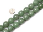 Round Green Jade Aventurine Beads Strand 38cm Jewellery Making Beads