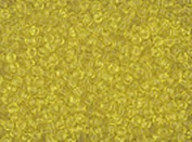 Seed Beads 10/0 Czech Translucent Yellow