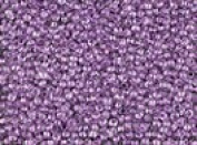 Seed Beads 11/0 Czech Lined Purple