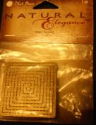 Natural Elegance Metal Square Burnsh