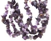 Bead Collection 40478 Semi Precious Amethyst Chips Beads, 20cm