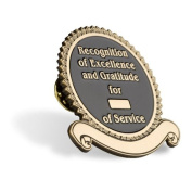 Recognition of Excellence and Gratitude Pin
