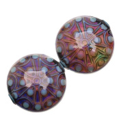 Mirage Colour Changing Mood Beads - Stargazer - 21.5mm Diameter Round Spacers