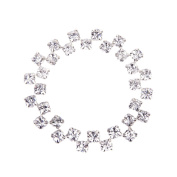 40pcs Loose Faceted Sew On Rhinestone Beads 6mm