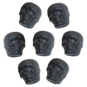 Black Skull Beads