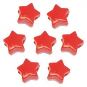 450 Red Star Pony Beads