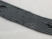 Hematite Square 1x3mm 16'' Per Strand Spacer Coating Grey Colour 370pcs