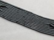 Hematite Square 1x3mm 16'' Per Strand Spacer Coating Grey Colour 370pcs