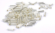 Silver Lined 0.6cm Seed Bead - Silver