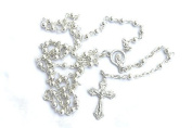 Rosarybeads Silver Coloured Metal Rosary Beads Rosaries