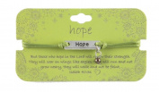 Heart On Your Sleeve Design Scripture Bracelet Hope