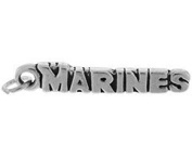 Sterling Silver Marines Charm