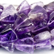 9mm Cape Amethyst Plain Triangle Beads, 14 inch