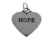 Sterling Silver Affirmation Charm - Hope