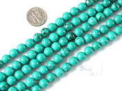 """4mm 6mm 8mm 10mm 12mm 14mm round gemstone natural turquoise beads strand 15"""" jewellery making beads"""
