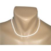 Hawaiian 46cm Puka Shell Necklace 0.5cm Width