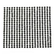 AllyDrew 4mm Crystal Diamond Sticker Adhesive Rhinestone, 468pcs