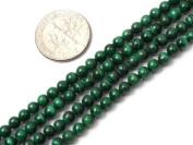 "3--4mm Round Malachite Stone Beads Strand 15"" Jewellery Making Beads"