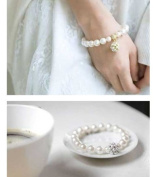 Fashion Lovely Bling Exquisite Pearls Bracelets--(With Cutely Gift Box--Awesome gift for any Holiday)-----. From USA--takes 2-6 working days with shelley.kz INC--------(1 pcs only)------