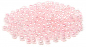 Beaders Paradise LTS55P Czech Glass Pink Pearl 10/0 Seed Beads in a Tube