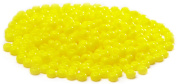 Beaders Paradise LTS146 Czech Glass Opaque Yellow 10/0 Seed Beads in a Tube