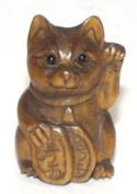 Feng Shui Cat ~ Ojime Bead