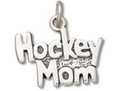 Sterling Silver Hockey Mom Charm