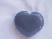 5.1cm Angelic Agate Heart, 9.5.36