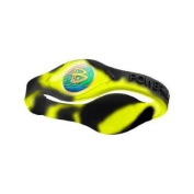 Power Balance Neon Yellow Swirl Wristband Size XS