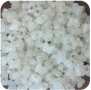 The Original Solaractive® UV Colour Changing Beads - Butterfly Glitter White to Purple 120 per Pack