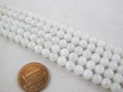 Natural Moonstone Round 6mm White 67pcs 15.5'' Per Strand Gemstone Beads