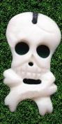 Skull Head Pendant Real Bones Necklace Evil Goth Punk Rock