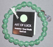 Art of Luck Aventurine Great Wealth Good Luck Bracelet