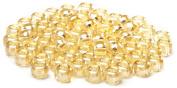 Beaders Paradise LT6E325 Czech Glass Light Golden Glow 6/0 E-Beads in a Tube