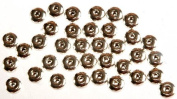 Sterling mm Sized Beads (Price Per Pair) - Sterling Silver