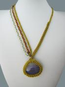 Macrame Jewellery GPN-120_ 50cm Necklace