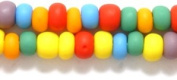 Preciosa Ornela 6SB100-M Czech Seed Bead, Opaque Mixed Colours Matte, Size 6/0