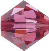 Create Your Style. Elements 4mm Bicone Crystals, Indian Pink