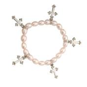 Alexa's Angels Pink Cross Children's Faith Bracelet