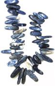 Bead Collection 40134 Sticks Sapphire Sodalite Beads, 23cm