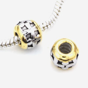 Add A Link Of Charm Silver Gold Pandora Style Bead