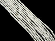 A Lustrous Natural Full Round Pearls String / Strand of 3-4mm Beads From India