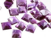 Amethyst mm Squares (Price Per 5 Pieces) -