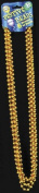 Beads 33In 7 1/2mm Gold - Case Pack 4 SKU-PAS561974