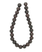 Tennessee Crafts 1313 Semi Precious Red Garnet Round Beads, 8mm